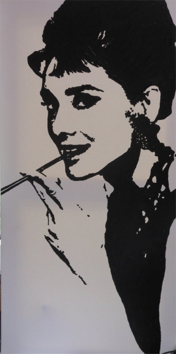 Audrey Hepburn par Septodecaphile
